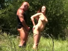 brunette, chubby, wife, cock sucking, cock