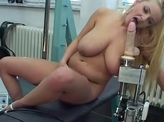Titiana - blonde, close-up, milf, ass, natural big tits, fatty, trimmed pussy