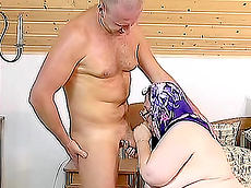 Sally - blowjob, doggy style, dildo, facial, granny, fatty, masturbation