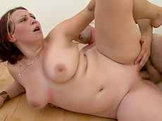 Sophie - blowjob, shaved pussy, cumshot, busty, hardcore, fatty