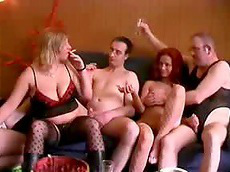 chubby, compilation, swingers, orgy