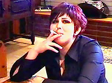 chubby, smoking, short hair, clothed, cigarette, HD
